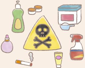 化学物質のイラスト