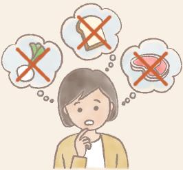 食べ物原因
